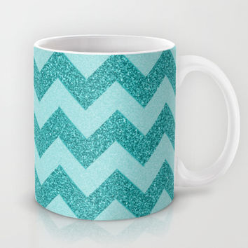 Chevron Frost Mug by Alice Gosling