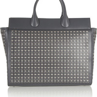 Alaïa | Laser-cut leather tote | NET-A-PORTER.COM