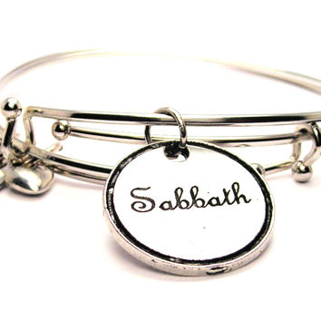 Sabbath Expandable Bangle Bracelet Set