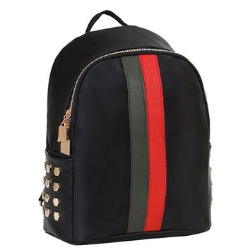 New Preppy Rivet Shoulder Travel Backpack