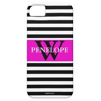Modern Stripes Perssonalized Iphone 5/5 Case