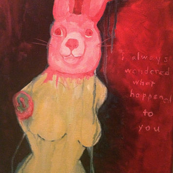 Original Painting: I Always Wondered What Happened To You