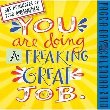 You Are Doing a Great Job Desk Calendar, Motivation by Workman Publishing