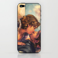 Tangled A Kiss for Corona iPhone & iPod Skin by Alice X. Zhang