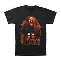 Rob Zombie Men's  Hell On Earth Tour 2011 T-shirt Black