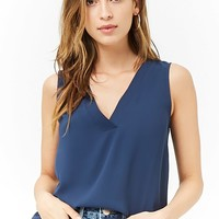 High-Low Chiffon Top
