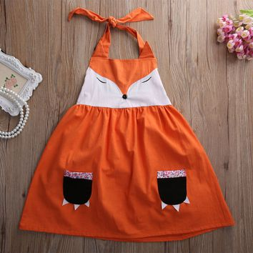 Cute New Fox Girl Princess Dress Kid Baby Party Wedding Pageant Tulle Tutu Dresses