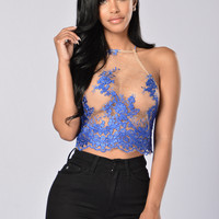 Opulence Top - Royal