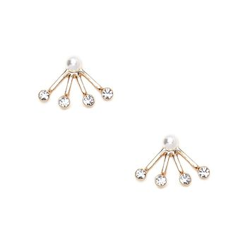 Faux Pearl Ear Jackets