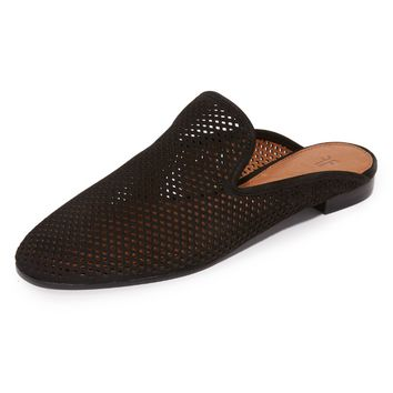 Gwen Perforated Mules