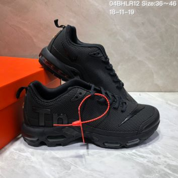 DCCK2 N646 Nike Air Max Plus TN Ultra Running Shoes Black