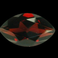 Sparkling loose SI red diamond 3.5 carat marquise cut loose