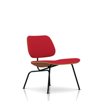 Eames Molded Plywood Upholstered Lounge Chair / eames LCM
