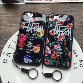 Cute On Sale Hot Deal Stylish Iphone 6/6s Floral Apple Soft Iphone Phone Case [10292484935]