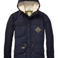 Colour Block Down Jacket - Scotch & Soda