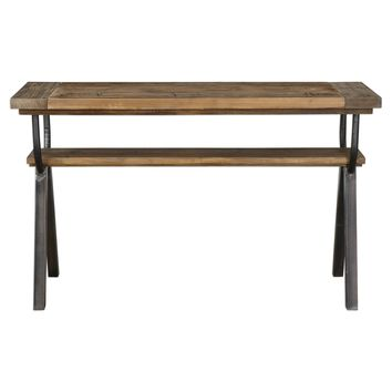 Domini Industrial Reclaimed Pine Console Table by Uttermost