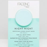 Face Inc Night Night Soothing Hydro Night Mask at asos.com
