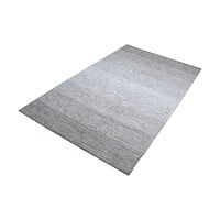 Delight Handmade Cotton Rug in Grey