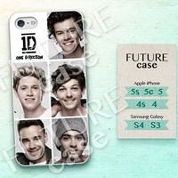 One Direction iPhone 4s case Pop Star Idol Band iPhone case iphone 4 case iphone 4s case iphone 5 case Hard or Soft Case-OD07