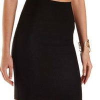High-Waisted Bodycon Pencil Skirt by Charlotte Russe