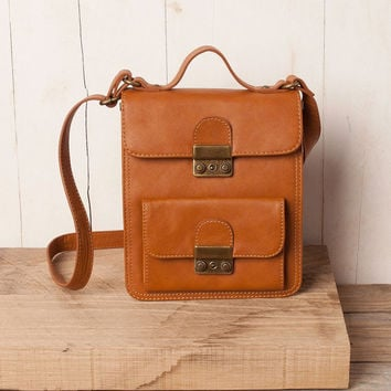 SALE 20 synthetic Leather collegial bag by emiliacaracol on Etsy