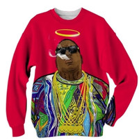 Biggie Smalls Up In Smoke Sweatshirt