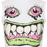 Monster Crop By Tee And Cake