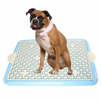 Hot Cat Puppy Indoor House Pee Potty Toilet Portable Dog Tray Restroom Toilet for Dog Litter Tray Pet Accessories