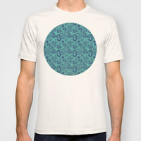 Blue Skin T-shirt by Tony Vazquez