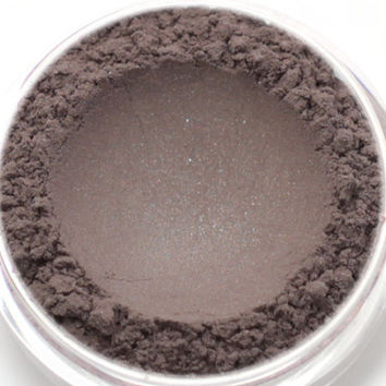 "Eyeshadow Sample - ""Ashelia"" - plummy taupe brown with shimmer (Vegan) Mineral Makeup Eye Color Pigment"