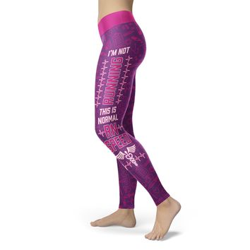 RN Speed Purple Nurse Leggings