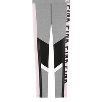 Cotton Sheer Stripe Logo Legging - PINK - Victoria's Secret