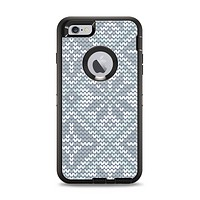 The Knitted Snowflake Fabric Pattern Apple iPhone 6 Plus Otterbox Defender Case Skin Set