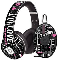 Love Skin  for the Beats Studio Headphones & Case by skinzy.com