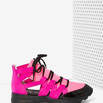 Jeffrey Campbell Vedda Neoprene Trainer