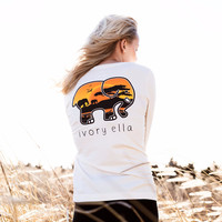 Perfect Fit Sunset Safari Tee