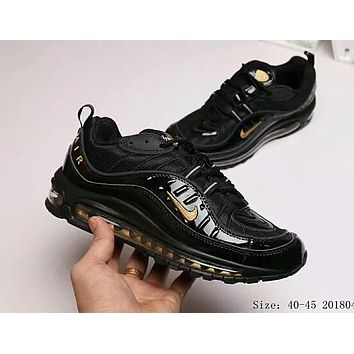 NIKE Air Max OG 98 Trending Men Leisure Personality Running Sport Shoes Sneakers Black I