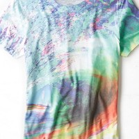 AEO Men's Wave Graphic T-shirt (Multi)