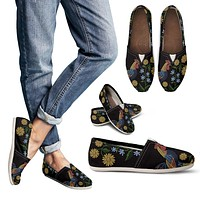 Embroidery Chicken Casual Shoes