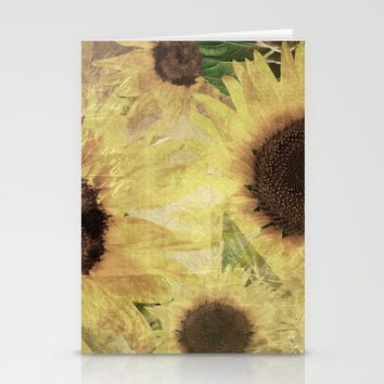 Wallflowers Stationery Cards by Theresa Campbell D'August Art