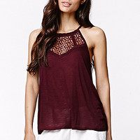 LA Hearts Lace Yoke Goddess Top at PacSun.com