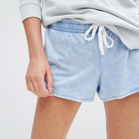 New Look Acid Wash Shorts