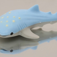 Blue Whale Shark Eraser
