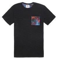 On The Byas Keith Cosmic Pocket Crew T-Shirt - Mens Tee - Gray -