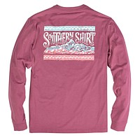 Sunset Ridge Long Sleeve Tee in Sonoma by The Southern Shirt Co. - FINAL SALE