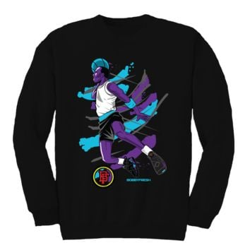 Bobby Fresh Flight Aqua 8s Crewneck
