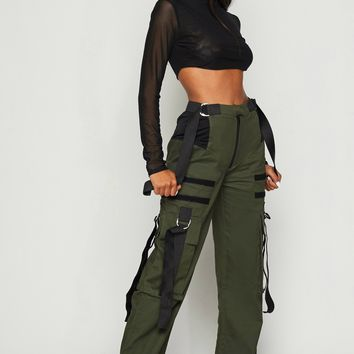Kim Possible Cord Detail Cargo Pants