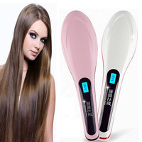 LCD Display Electric Hair Straightener