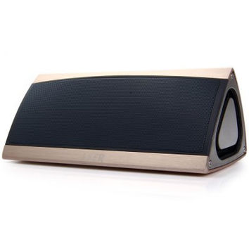 LKER King High-end Bluetooth V4.0 Stereo Wireless Speaker HiFi Sound Box with Microphone Volume Control 119
