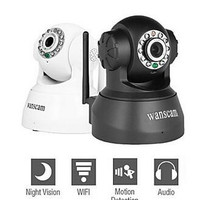 New Wireless IP Camera WIFI Webcam Night Vision(UP TO 10M) 10 LED IR Dual Audio Pan/Tilt Support IE S61